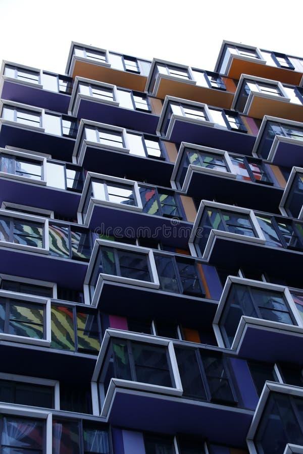 Highrise Student Accommodation Melbourne CBD Stock Photo ...