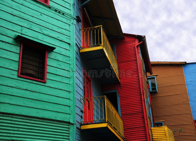 Download Colourful House Of Caminito Stock Photo - Image: 5305748