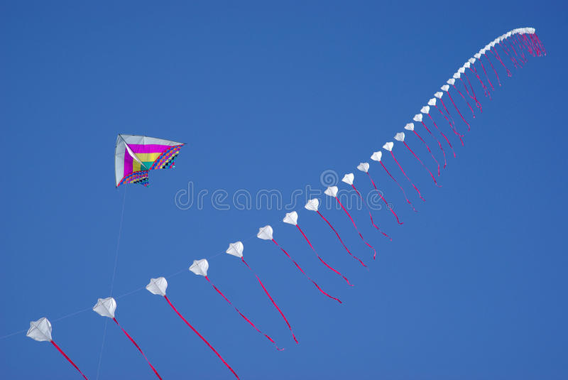 Download Colourful kites in sky stock photo. Image of creative - 13815226