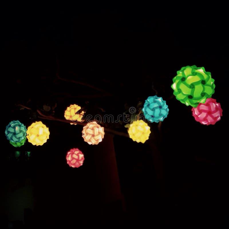 Colourful lampion zdjęcia royalty free