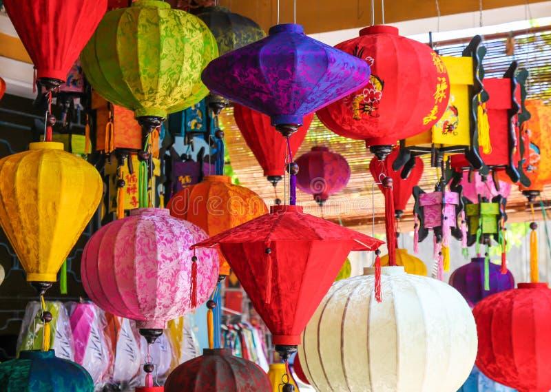 Colourful lampiony fotografia stock