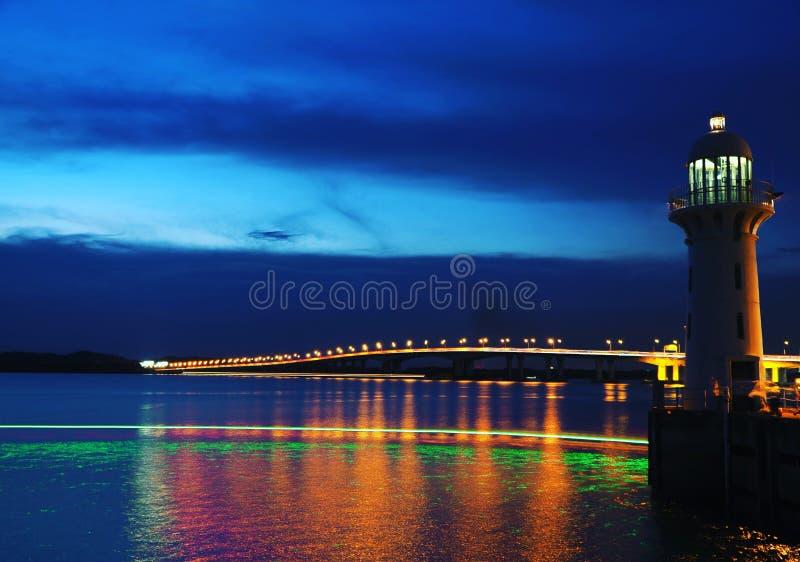 Colourful lighthouse stock photos