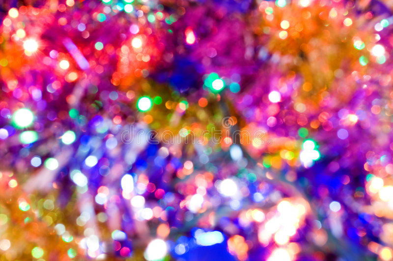 Colourful lights royalty free stock photography