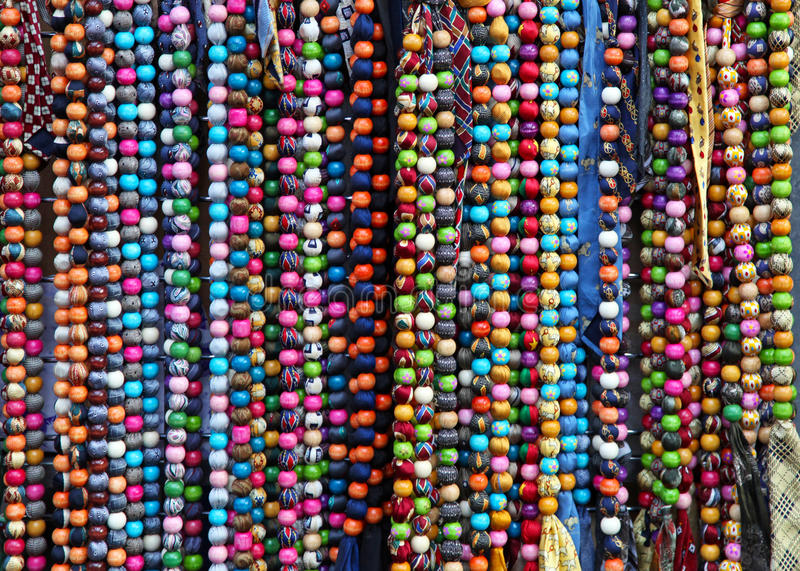 Download Colourful necklaces stock image. Image of perals, jewellery - 23101177
