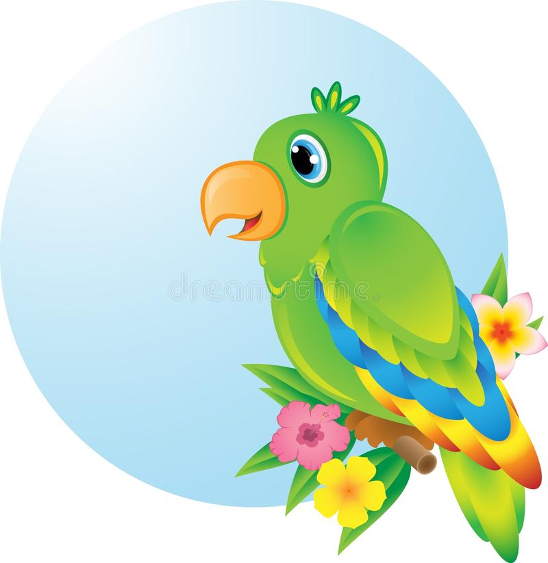 Download Parrot stock illustration. Illustration of macaw, sitting - 30302770