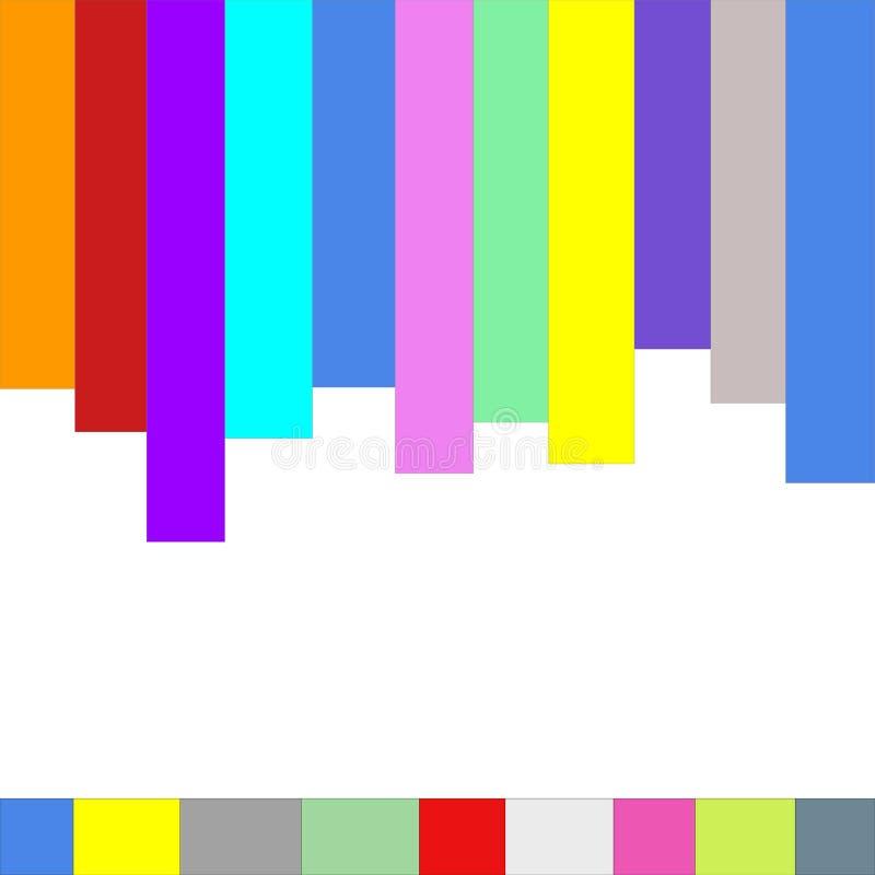 Colourful paski ilustracja wektor