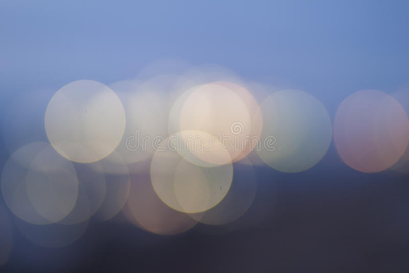 Colourful pink, blue, light green and yellow smooth bokeh background stock photography