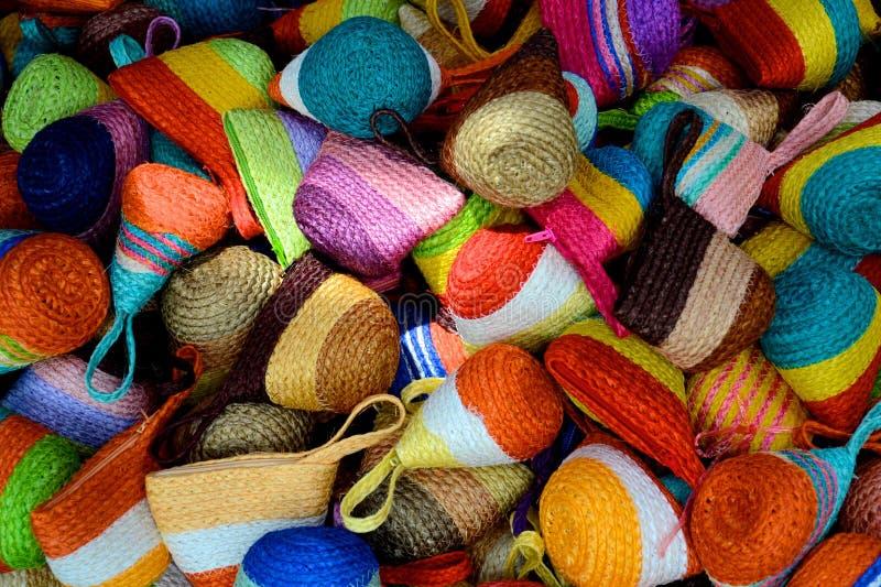 Colourful pocket stock photo