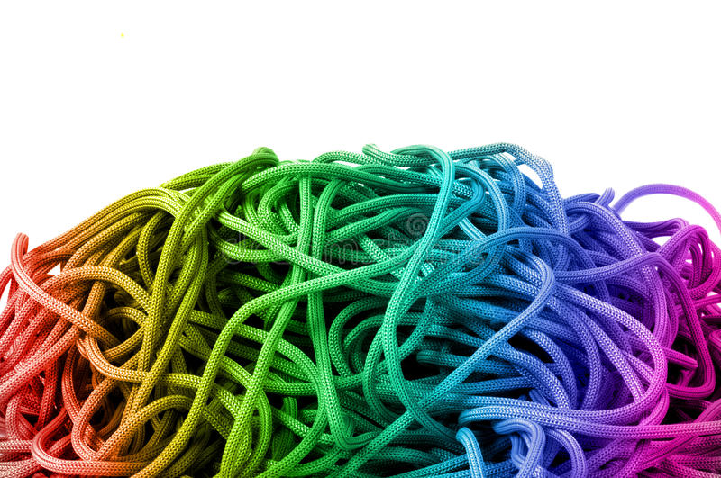 Download Colourful rope stock image. Image of overhead, colour - 40223101