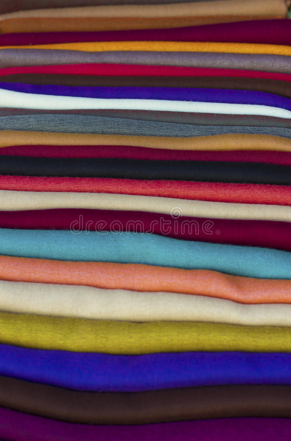 Download Colourful scarves stock photo. Image of object, scarf - 27351114