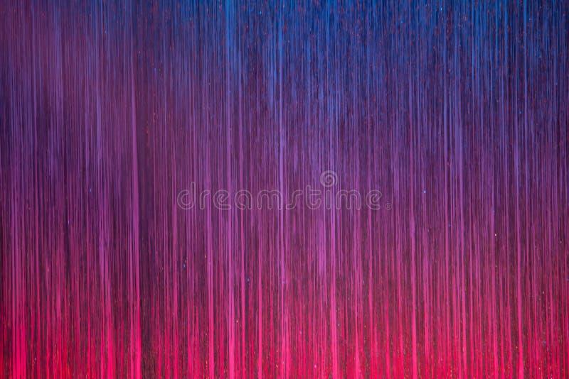 Colourful sceny zasłona obrazy stock