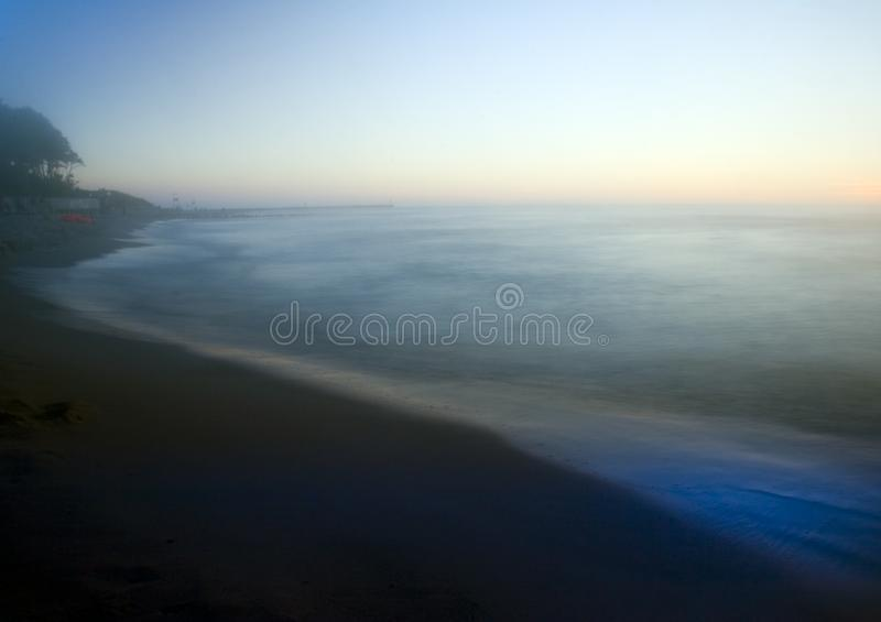 Colourful sea royalty free stock photography