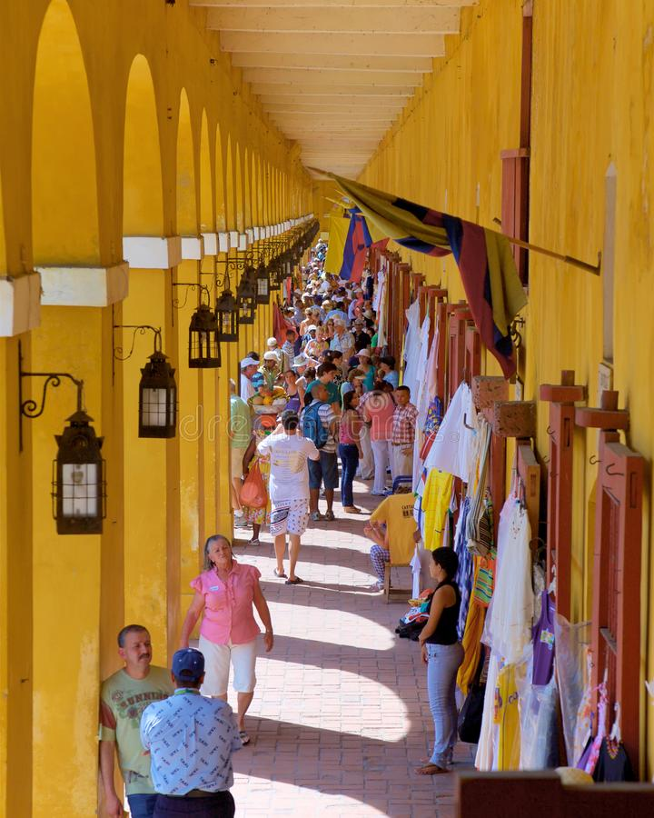 Free Colourful Stalls And Clothes Royalty Free Stock Photos - 109536538