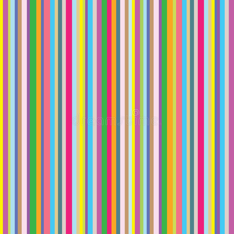 Free Colourful Striped Background. Vector Illustration. Stock Image - 20505691