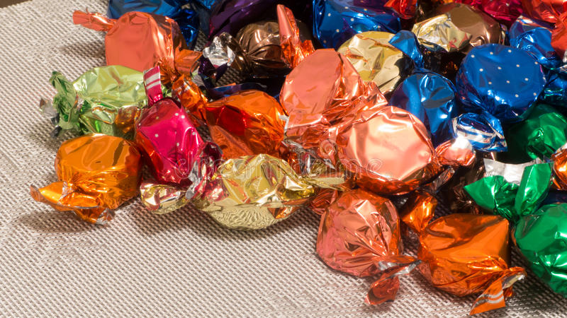 Colourful sweets - candy royalty free stock image