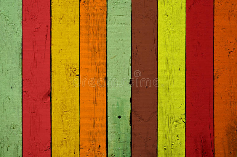 Colourful wood background. Colourful plank wood background texture stock photography