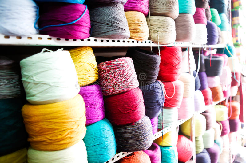 Download Colourful Wool Stock Image - Image: 25773821