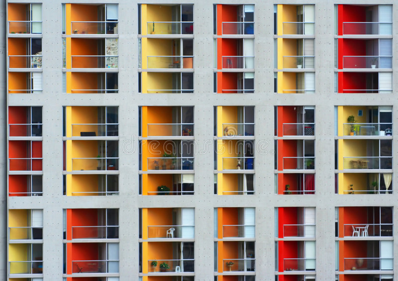 Colourfull Leben stockbilder