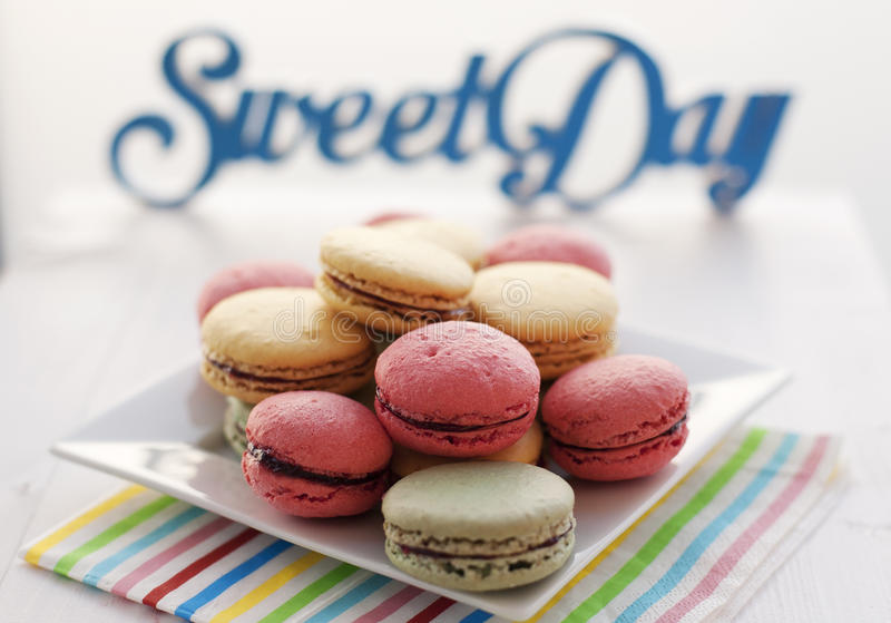 Download Colourfull macaroons stock photo. Image of cookie, dessert - 31639092