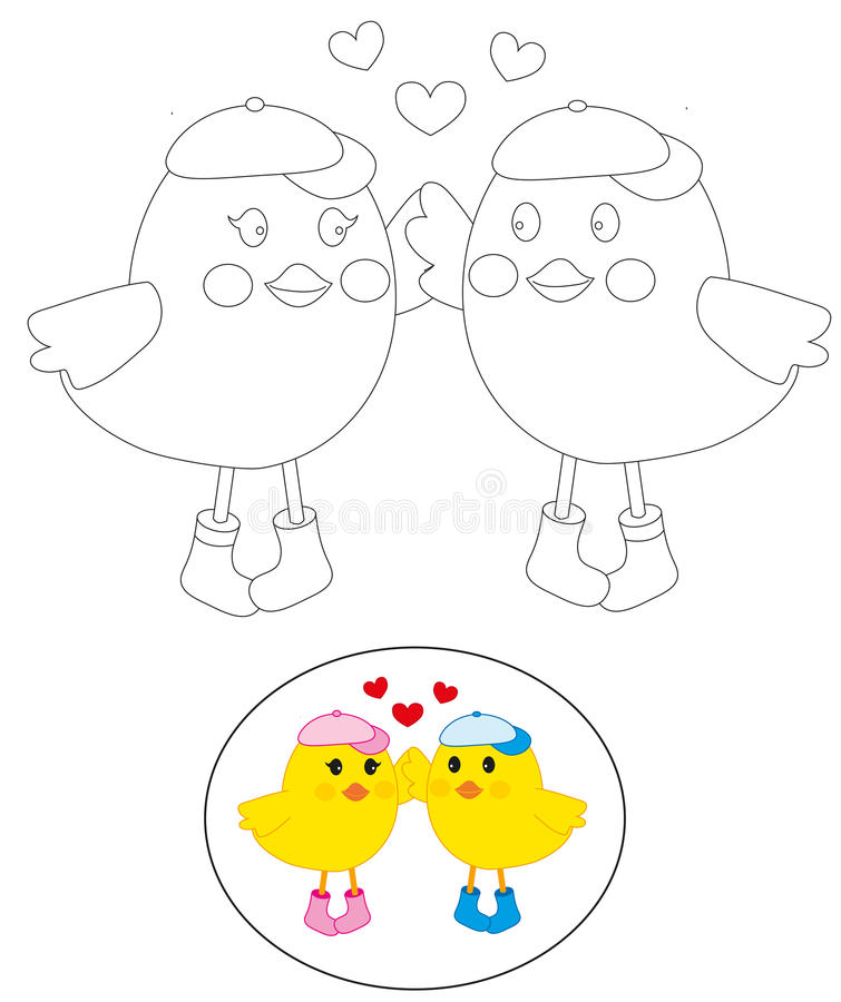 Download Colouring Birds Royalty Free Stock Photo - Image: 21238495