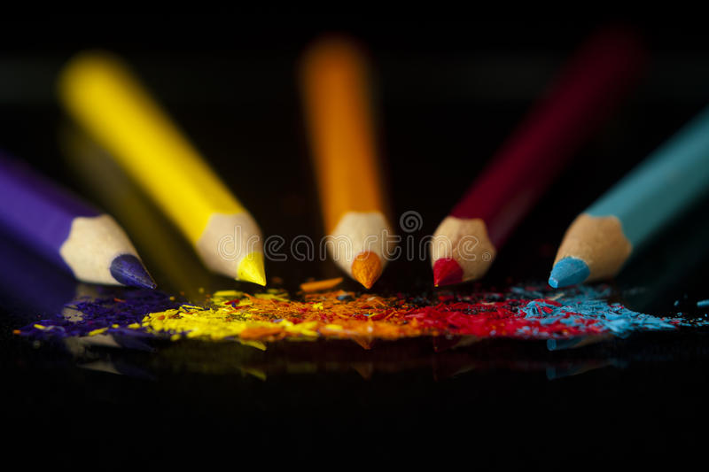 Download Colouring pencils stock image. Image of pencil, colouring - 21115569