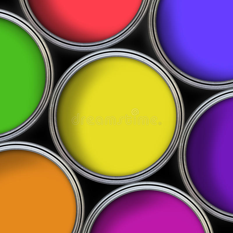 Colours vector illustration