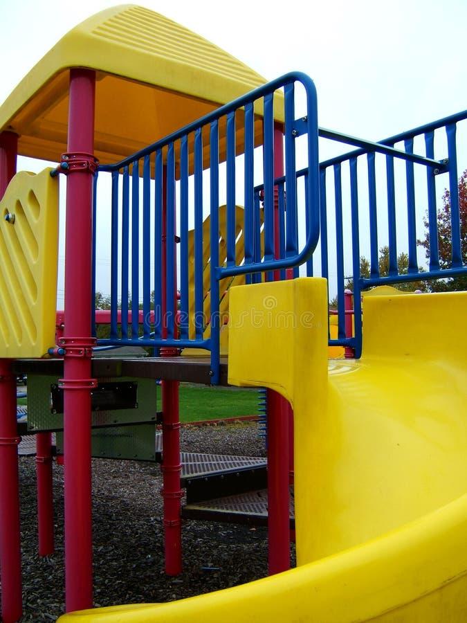 Download Colours lekplatsen arkivfoto. Bild av hang, glidning, klättring - 34066