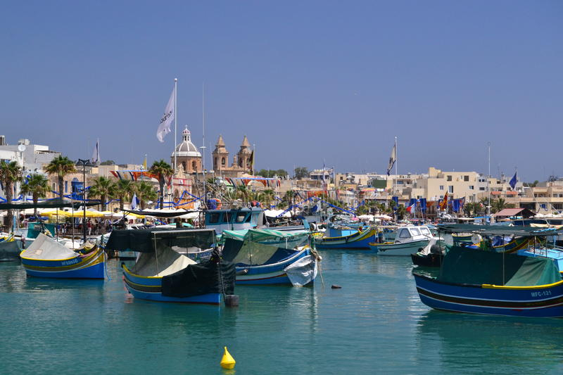 Colours of Malta royalty free stock photography
