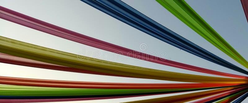 Colours w niebie zdjęcia royalty free
