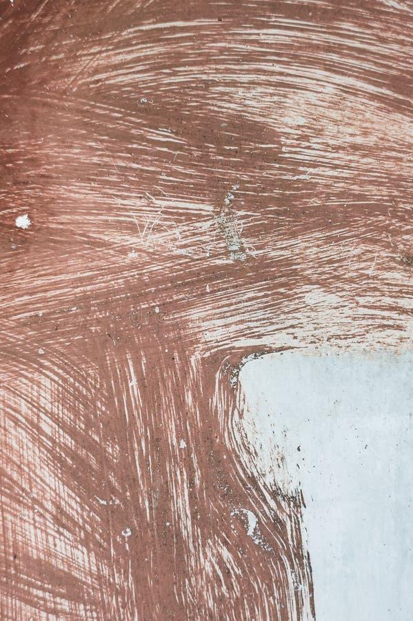 Colpi astratti della spazzola con pittura immagine stock libera da diritti