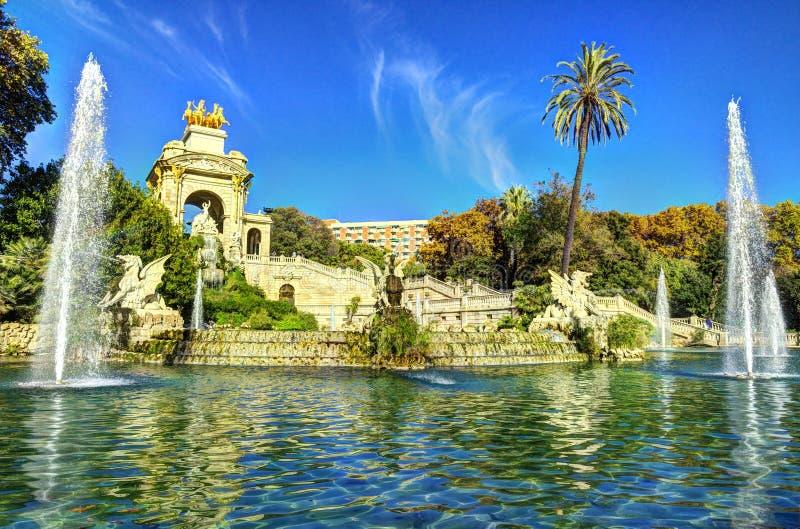 Colpi della città i di Barcellona della Spagna - viaggio Europa immagine stock libera da diritti