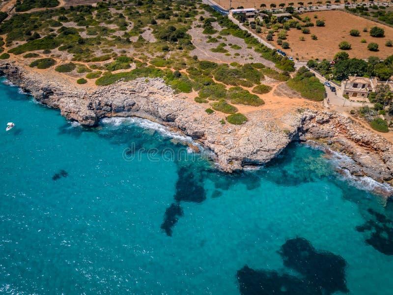 Colpi Mallorca del fuco balearica fotografie stock libere da diritti