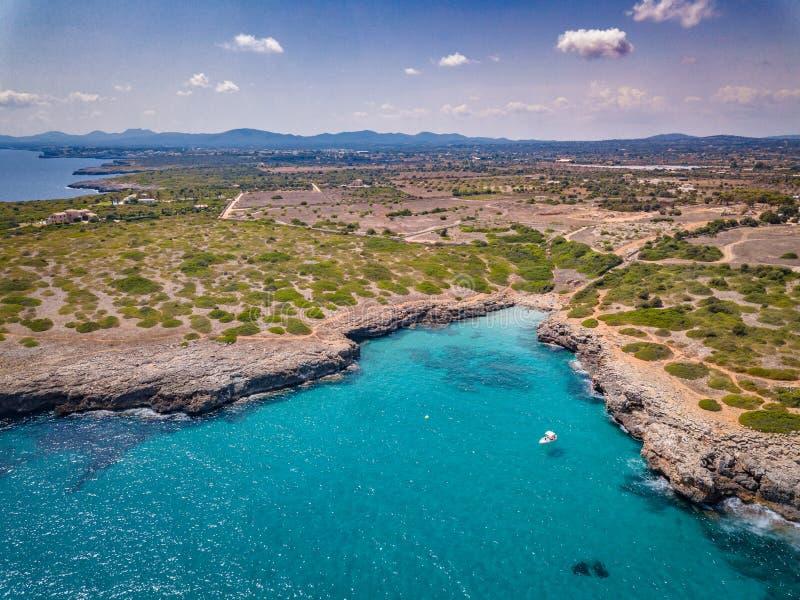 Colpi Mallorca del fuco balearica fotografia stock libera da diritti