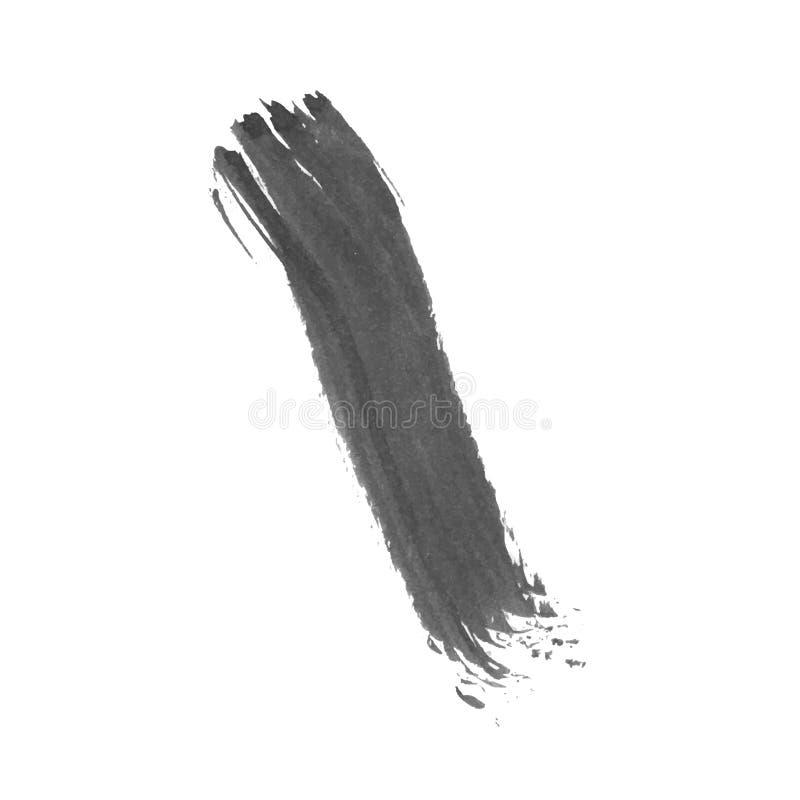 Colpo della spazzola di lerciume illustrazione vettoriale