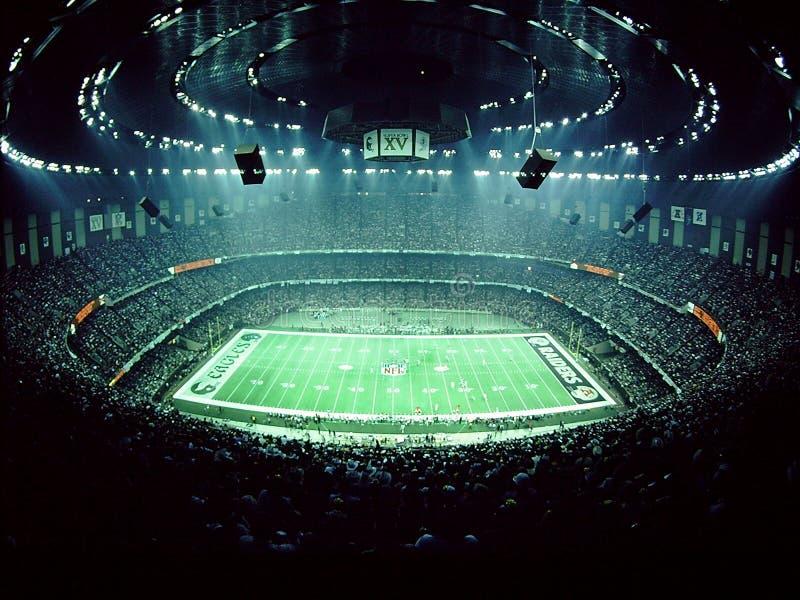 Colpo dello stadio di Super Bowl 15 fotografia stock