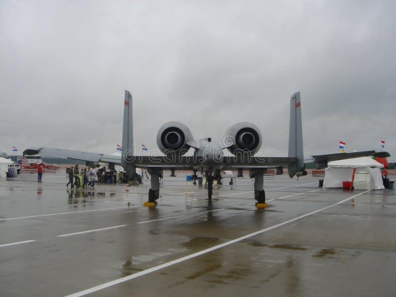 Colpo di fulmine A-10 immagini stock libere da diritti