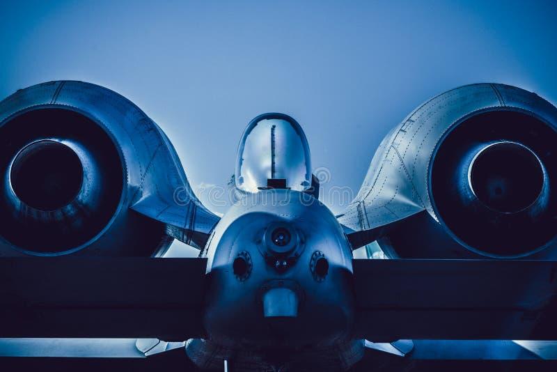 Colpo di fulmine II della Repubblica A-10 di Fairchild fotografia stock