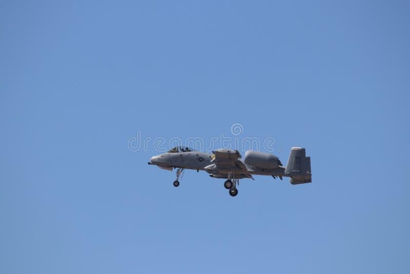 Colpo di fulmine II 10 della Repubblica A-10 di Fairchild fotografia stock libera da diritti