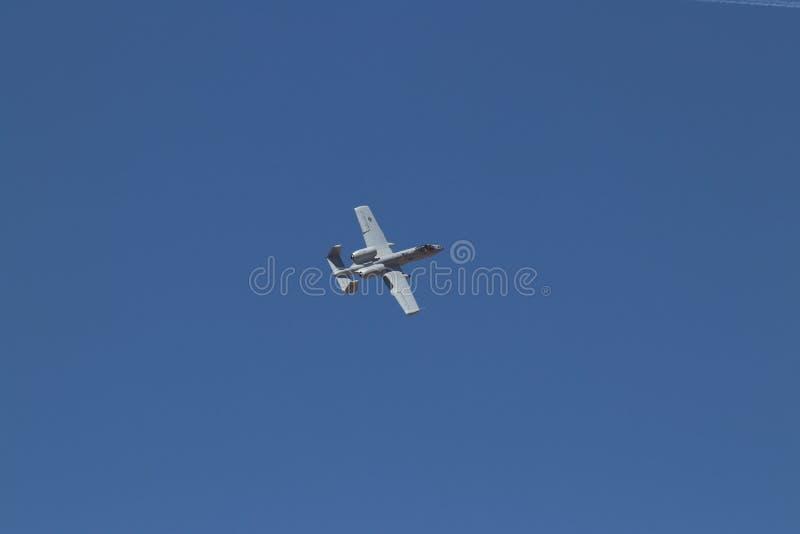 Colpo di fulmine II 1 della Repubblica A-10 di Fairchild fotografie stock