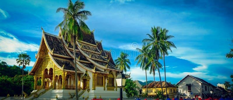 Colpo di Pha del biancospino in Luang Prabang, Laos fotografia stock libera da diritti