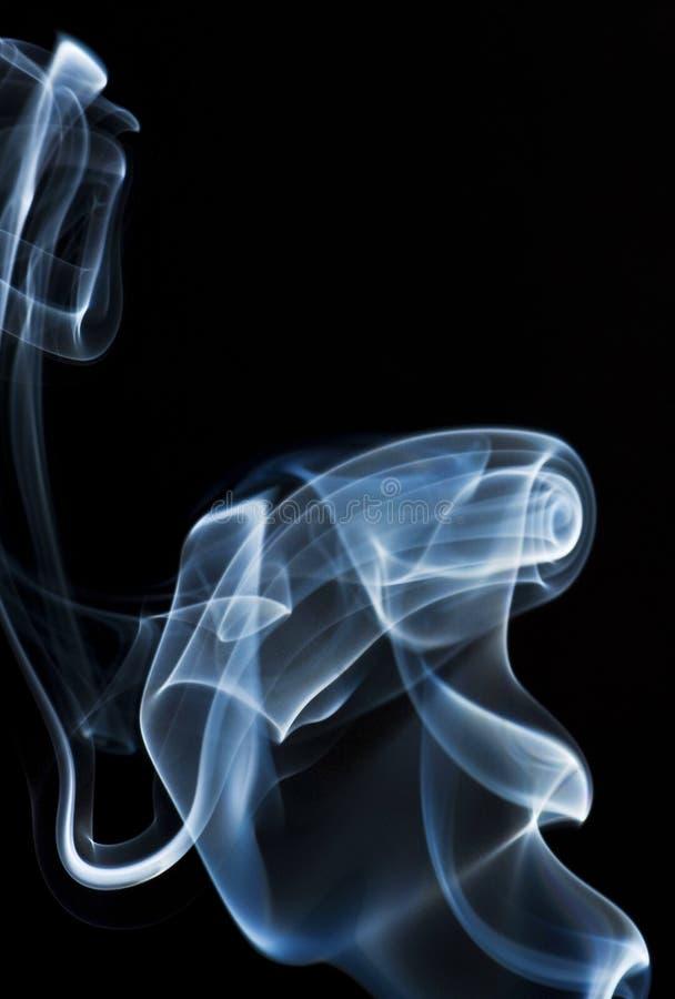 Colpo di turbinio del fumo fotografie stock libere da diritti