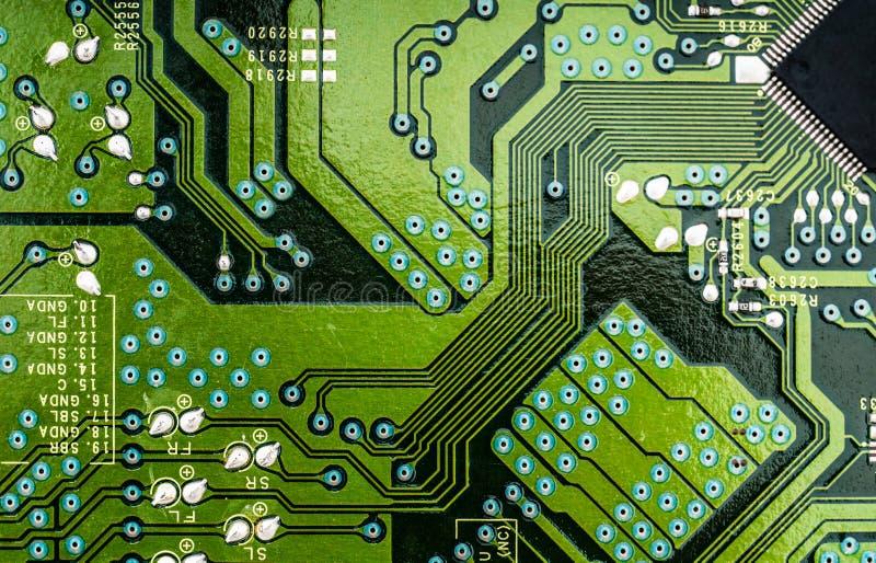 Colpo a macroistruzione del circuito immagini stock libere da diritti