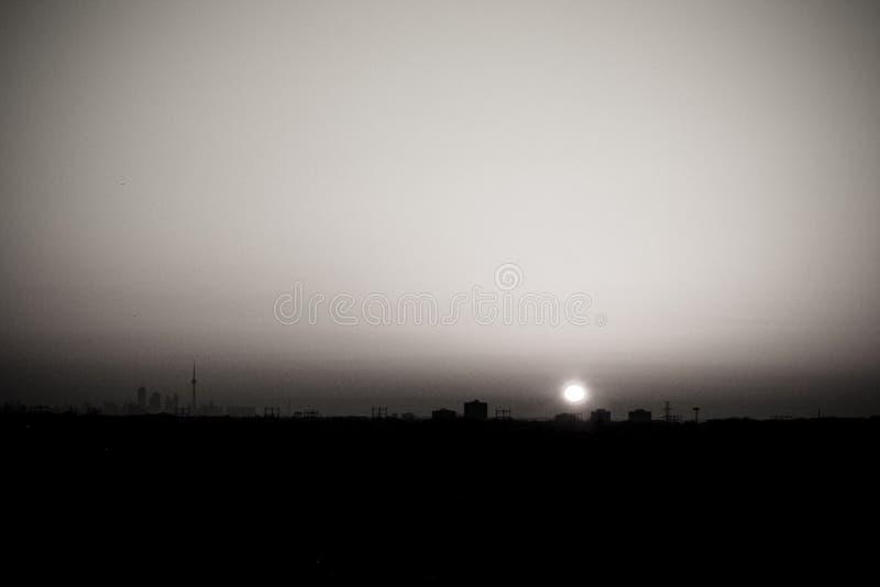 Colpo panoramico di Toronto immagini stock