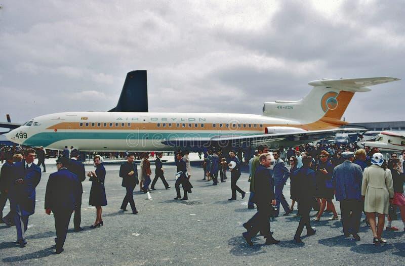 Colporteur de la Ceylan d'air Siddeley Trident 1E à Paris photo stock