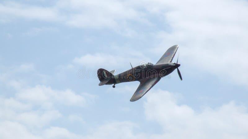 Colporteur Hurricane Mk J'avions dans Goraszka en Pologne photos stock
