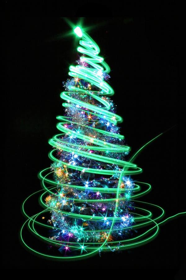 colro Weihnachtsbaum stock abbildung
