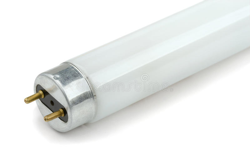 Tube fluorescent images stock