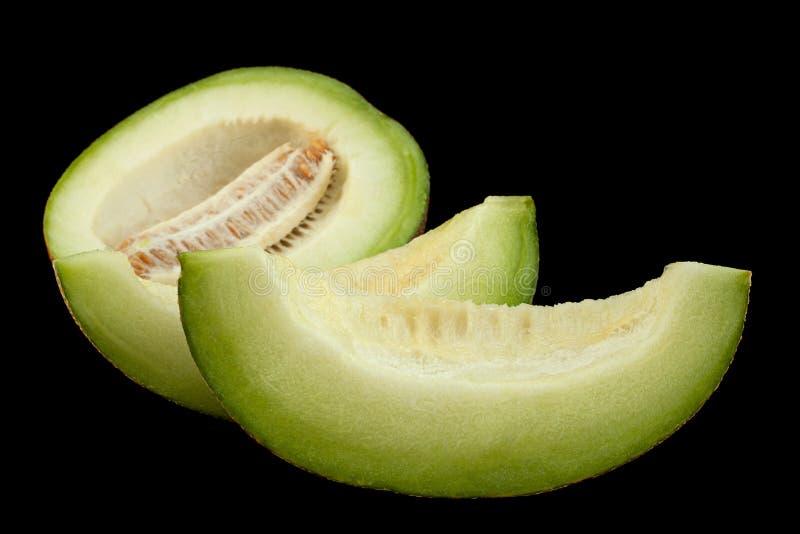 Colseup van rijpe meloenen stock afbeelding