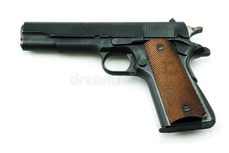 Colt Mark IV Delta Elite series80 government m1911 stock photography