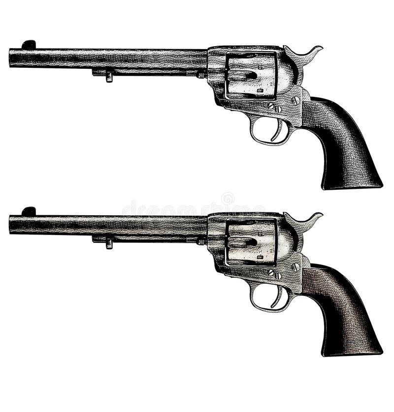 Colt Peacemaker stock illustration